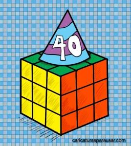 40 Aniversario del Cubo Rubik
