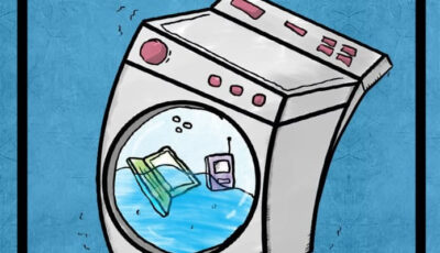 Dibujo sobre Limpieza de Dispositivos