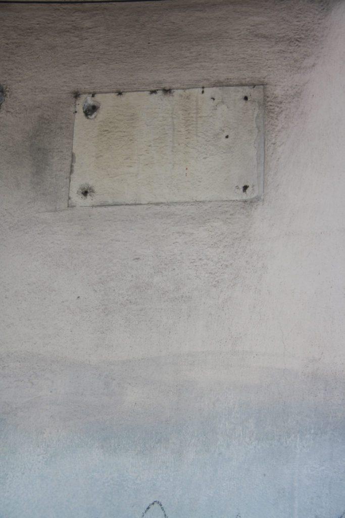 """Reminiscencias de la placa: """"Aquí vivió León Felipe"""""""