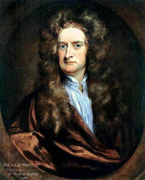 Isaac Newton (Fuente: Wikimedia)