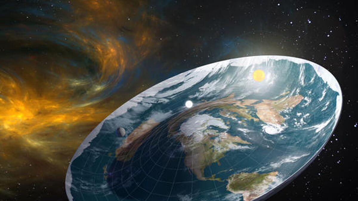 Teoría de la Tierra Plana (Fuente: Joya Energy