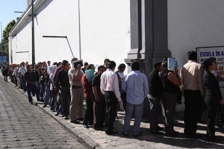 Personas desempleadas. Foto: UNAM