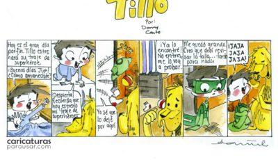 ¡Ahora sí! Tillo estrenará su traje de superhéroe