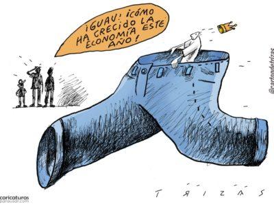Cartón Caricatura Política Economía