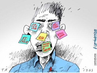 Cartón Caricatura Humor Gráfico