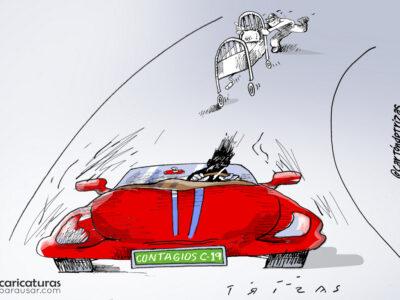 Cartón Caricatura Cartoon