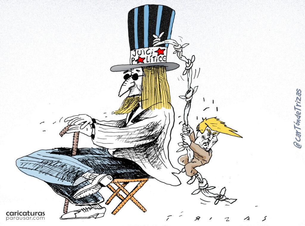 Caricatura Cartón Viñeta Humor Gráfico