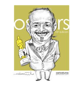 Carlos Cortés recibe el Oscar