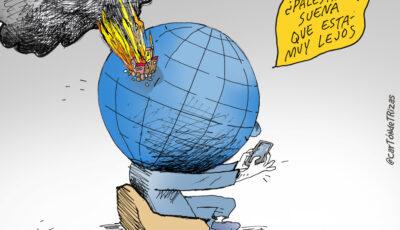 Caricatura del Conflicto en Palestina