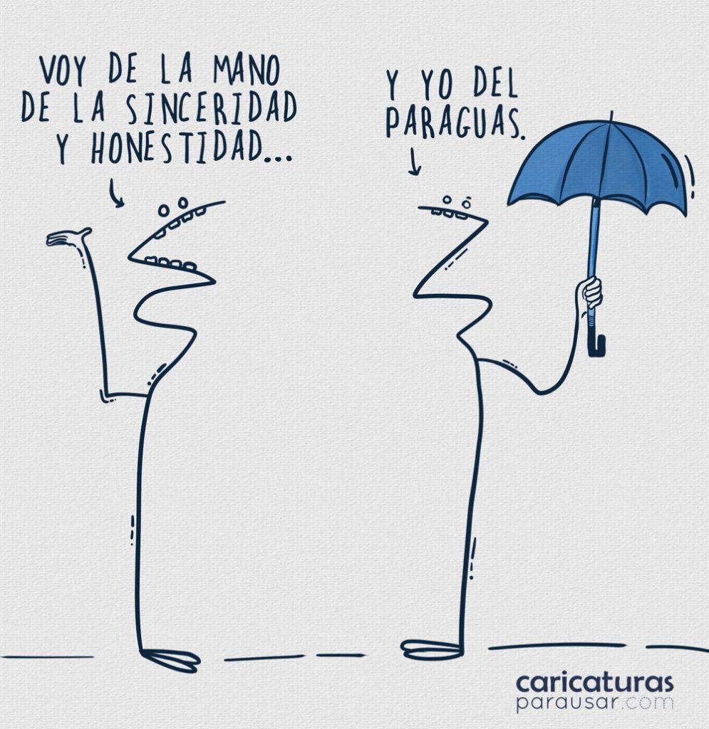 Humor Viñeta Lluvia