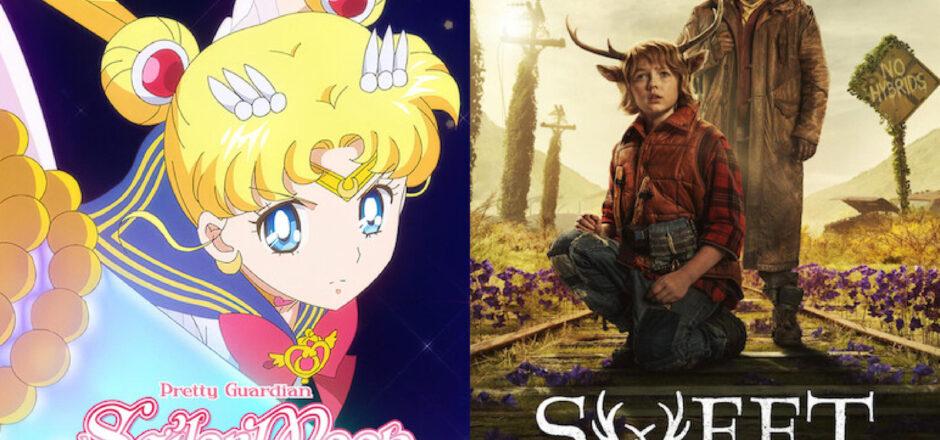 Posters de Sweet Tooth y Sailor Moon