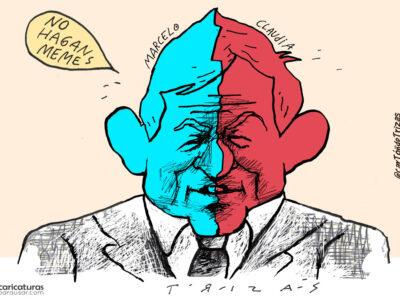 Caricatura Mapa Elecciones CDMX