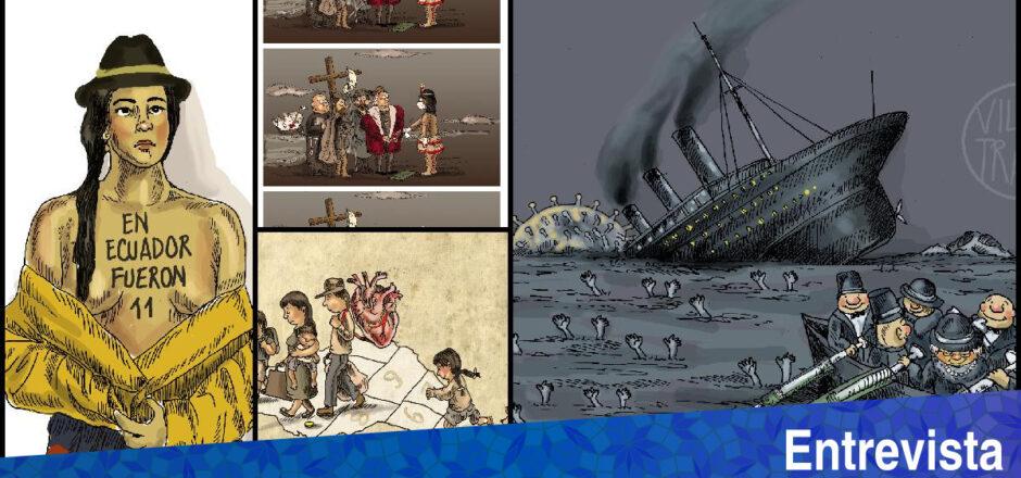 ENTREVISTA: La voz de una caricaturista ecuatoriana